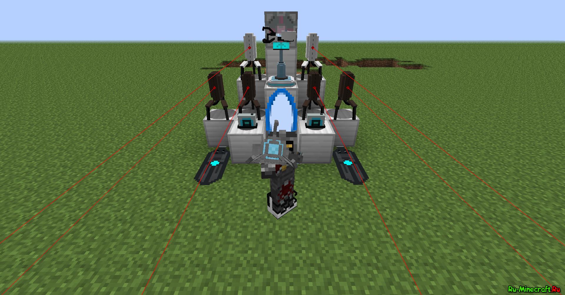 Моды на строительство для minecraft