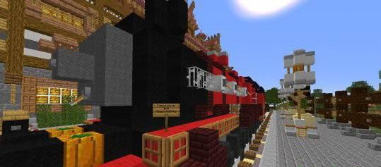 [Map]Сельская железнодорожная станция!