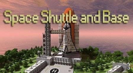 [Map] Space Shuttle and Base Map от UltraFox - космос. Практически!