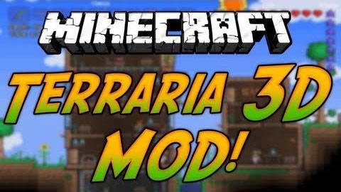 Terraria 3D - Террария  [1.7.10|1.6.2]