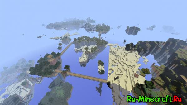 [Map] SkyLands - Карта для выживания!