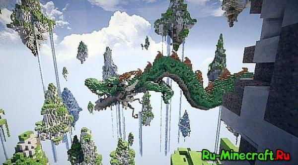 [Map] Amazing Dragon - Реалистичный дракон