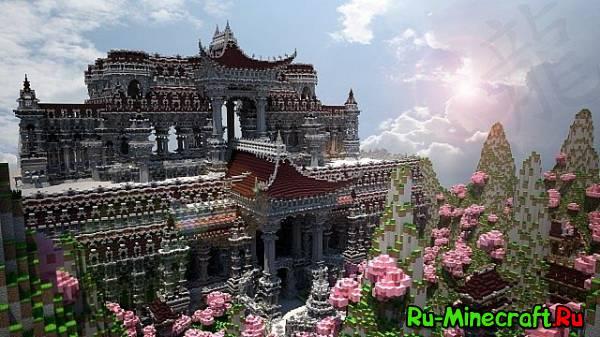 [Map]The Temple of Kantai - дворец для Голодных игр