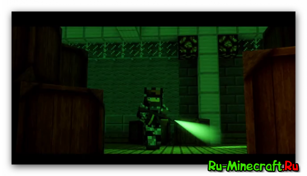[Video] Minecraft Animation: SPLINTER CELL BLACKLIST (Sky Fisher Edition) - пародия на трейлер.