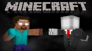 [Video] SlenderMan Vs Herobrine - Слендермен против Херобрина