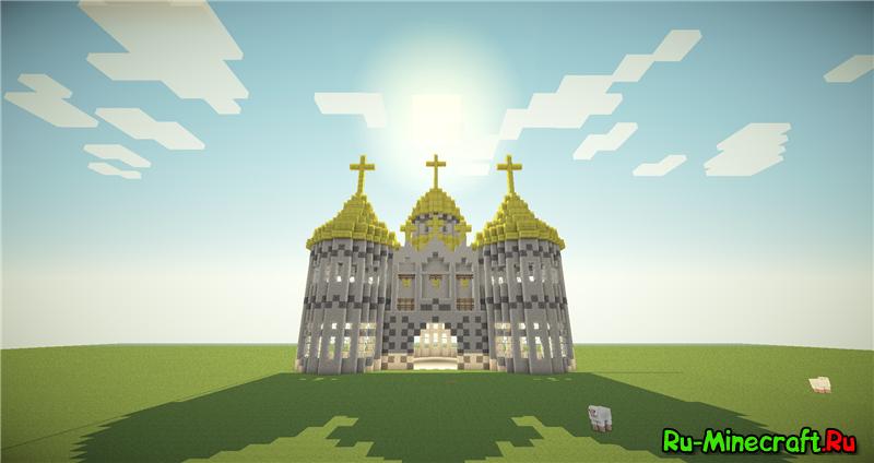 как построить церковь в деревне майнкрафте #10