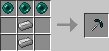More Pickaxes - Новые кирки [1.8] [1.7.10] [1.7.2] [1.6.4]