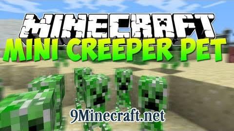[1.6.2] Mini Creeper Pet - ручной маленький крипер
