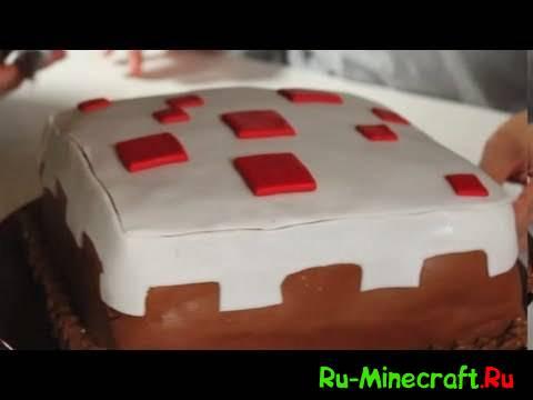 [Bon appétit] Как сделать торт из Minecraft (Real Life)