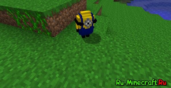 [1.6.2]Despicable Me Craft-Миньоны в Minecraft'e