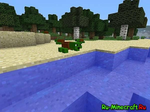 [1.6.2]Crazy Turtle Mod - сумасшедшие черепашки!