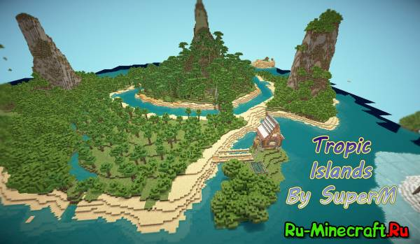 [Map] Tropic Islands - Острова...тропические...