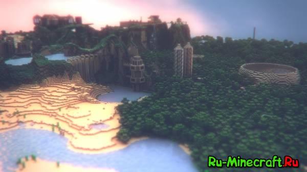 [Обои] Minecraft - Очень красивые обои на рабочий стол!