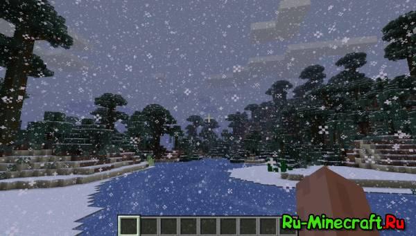 [1.5.1 - 1.6.2]ALLSNOW MOD - снежный мир!