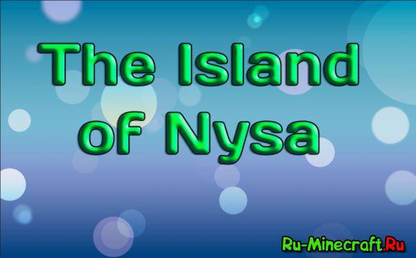 [Map] The Island of Nysa - горный остров
