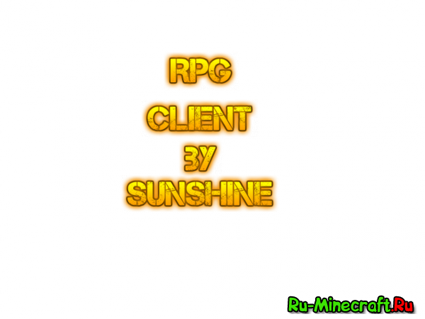 [1.5.2] RPG client by Sunshine