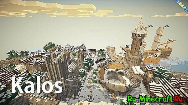 [1.6.4][32x] Kalos - красивый ресурс-пак!