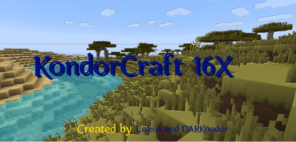 [1.7.2][16X] KondorCraft - интересный ресурспак