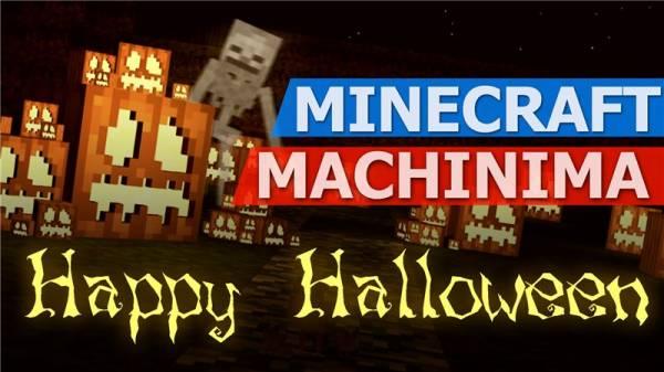 Minecraft - Halloween - Trick or Treat - (Minecraft Machinima)