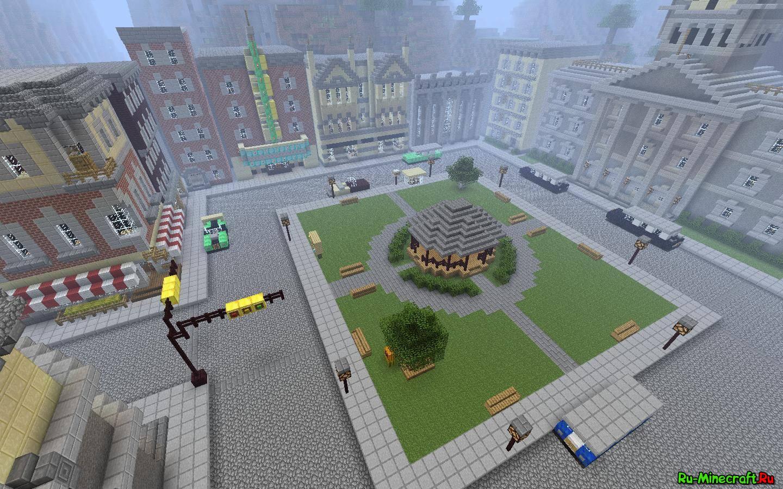 Скачать карту Modern City для Minecraft бесплатно - Карты ...