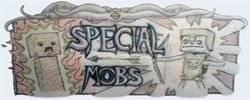 [1.6.4]Special Mobs - скелет в очках? Крипер на гасте???
