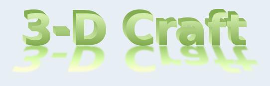 [1.6.4][Forge][Beta]3D-Craft - Объёмные инструменты!