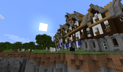 [Карта] Medieval steampunky Town Hall - Средневековый дом