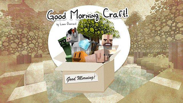 [1.8-1.9.4][16x] Good Morning Craft - ресурспак