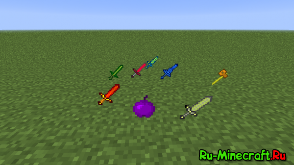 [1.6.4] Mega Swords Mod  By Makslus
