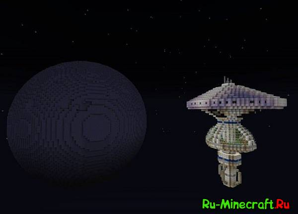 [Map]Federation Starbase And Moon-Космическая станция