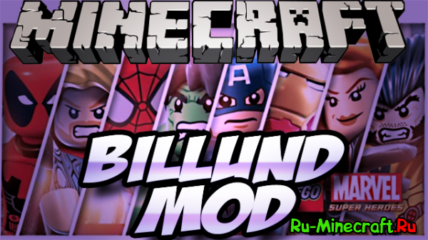 [1.6.4]Billund Mod - 1.01 - LEGO в Майнкрафте!