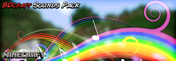 [1.7+] BDcraft Sounds Pack - крутой ресурспак