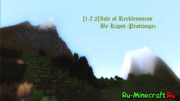 {1.7.2}[map]Isle of Recklessness- красивый остров.