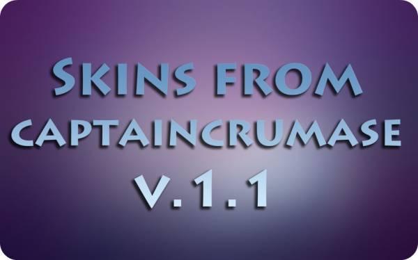 [Skins] Сборка скинов от CaptainCrumase v.1.1