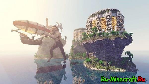 [Map]The Minotaurs Temple Islands - Эпик карта!