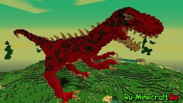 [Map]Jura Island - Остров для выживания с динозавром!