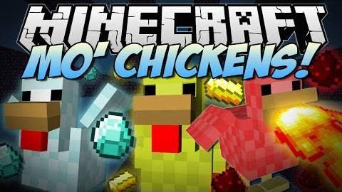 Mo'Chickens Mod - новые курицы [1.8] [1.7.10] [1.7.2] [1.6.4]