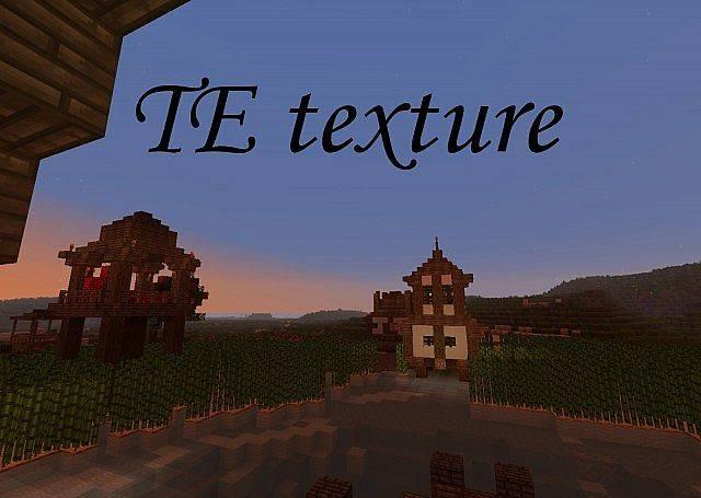 TE Texture - замечательный средневековый ресурспак [1.11.2-1.9][32x]