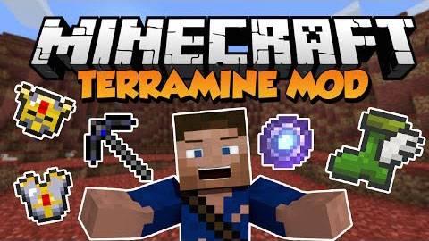[1.6.4][Forge] - TerraMine Mod - Террария теперь в майнкрафте? о_О