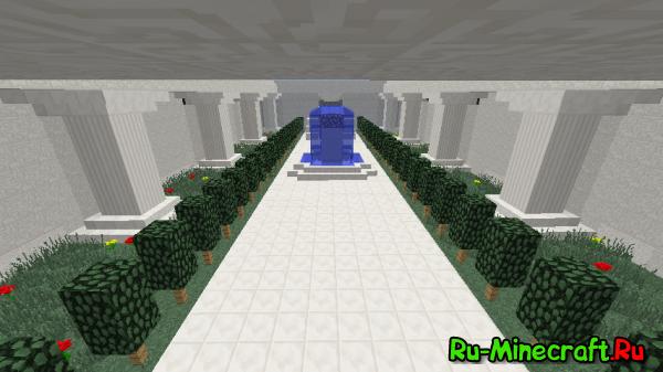 [Map]Дворец, домик на дереве и руины.