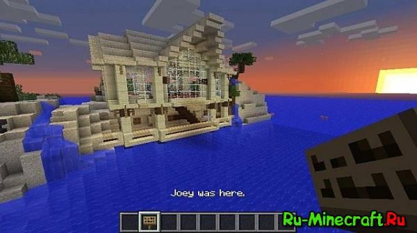[1.6.4][Map] Island Manor House - дом на острове!
