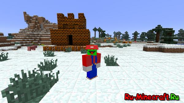Super Mario - Марио в майнкрафте! [1.7.10]