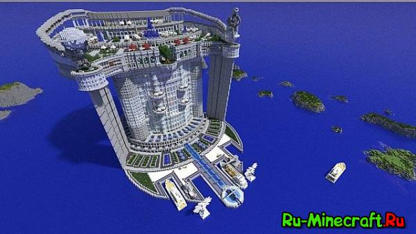 [Map]Skyscraper: TeamHouse — Большой особняк!