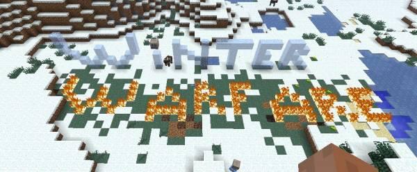 [1.6.4] Winter Warfare - снежки