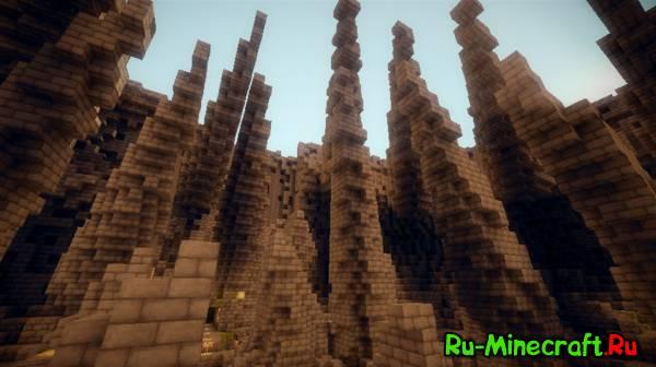 [Map][1.5.+] Ruins Of The Mindcrackers 2 - Руины Мозговзрывателей!