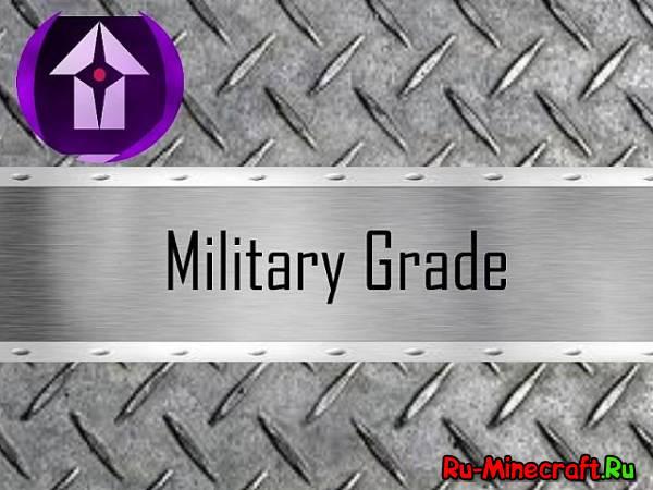[1.7.4][64x] Military Grade - Странный ресурс пак