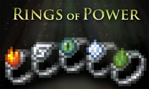 [1.6.4] Rings of Power Mod - Кольца силы