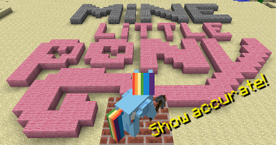 [1.6.4] Mine Little Pony - поняши в minecraft