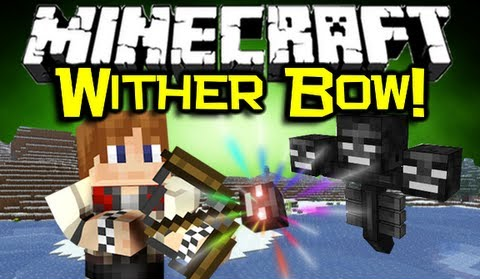 [1.6.4] Wither bow mod - стань иссушителем