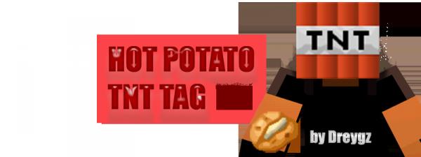 [Плагин] Hot Potato| TNT TAG - догонялки в minecraft